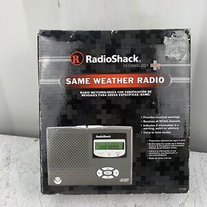 RadioShack 12-382 NOAA Portable Weather Radio Public Alert System