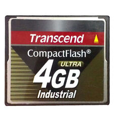 4GB Transcend Industrial Grade CF100I 100X High-Speed CompactFlash (SLC)