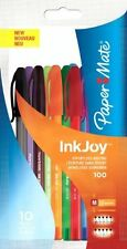 PaperMate InkJoy 100 ST Ball Pen with 1.0 mm Medium Tip - Assorted Fun Colours,