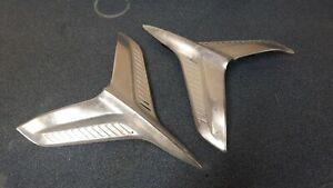 1960 chevrolet belair bel air side trim moulding airplanes birds pair