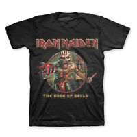 IRON MAIDEN T-Shirt EDDIE Book Of Souls New OFFICIALLY LICENSED S M L XL 2XL