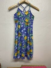 Girl's Purple Pineapple Sundress Size L