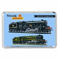 TRI-ANG (Triang) BRITISH LOCOMOTIVES ADVERT JUMBO Fridge / Locker Magnet
