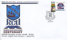 Special Commemorative Cover : 100th Anniversary Richmond College Union  Colombo
