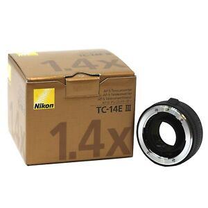 Nikon AF-S Teleconverter TC-14E III - 2 year warranty UK NEXT DAY DELIVERY