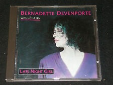 Bernadette devenporte with flair Late Night Girl/post DDR cd'91 DSB Gala 0180001
