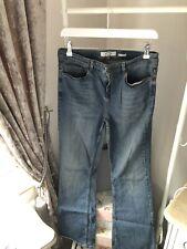 Fat Face Dark Denim Bootcut Jeans Size 12 Short