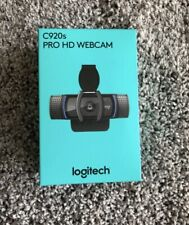 BRAND NEW Logitech C920s Pro HD 1080p Webcam with Privacy Shutter HAVE IN HAND