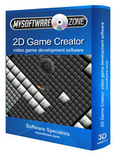 Create Develop 2D Video Games - Game Creation Pro Professional Software