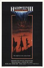 Halloween III: Season of the Witch 1982 Original Movie Poster Horror Sci-Fi