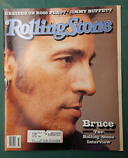 Bruce Springsteen Rolling Stone Music Newspaper Magazine #636 Aug 6 1992