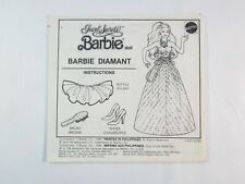 Jewel Secrets BARBIE Doll Barbie Diamant Instructions