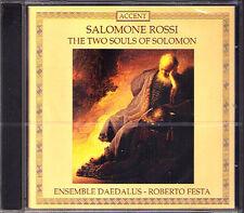 Salomone ROSSI 1570-1630 Two Souls of Solomon ROBERTO FESTA CD Ensemble Daedalus