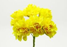 New Flower Bouquet Carnations Silk Artificial Flowers Room Wedding Decor DIY