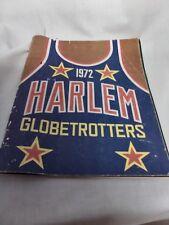 1972 Harlem Globetrotters publication fair condition 32 pages