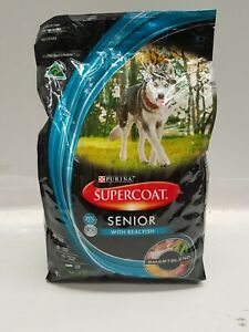 PURINA SUPERCOAT SENIOR WITH REAL FISH DOG FOOD ADULT 3KG