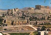 Alte Postkarte - Athen - Die Akropolis