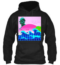 Vaporwave Japanese Otaku Aesthetic Sad Child - I Want Gildan Hoodie Sweatshirt