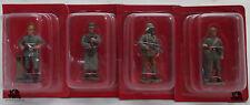 Lot 4 Figurines Hachette Soldats 1914 Mitrailleur Allemand Artilleur Guetteur