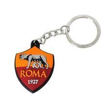 Portachiavi Ufficiale Roma morbido gomma Nuovo Logo in confezione regalo AS Roma