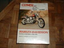 Clymer Harley Softail Heritage Fatboy Springer 1984 – 1999 Service Repair Manual