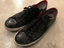 Converse Black Patent Leather Size 9.5!!!  Rare!!!  Collectible!!!