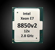 Intel Xeon E7-8850 v2 | 12x 2.3 - 2.8 GHz | CM8063601272306, SR1GK (D1), 2011-1