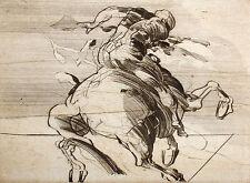 """Claude Weisbuch """"Galop de Marlere"""" Hand Signed Etching 1978 Artwork Make Offer!"""