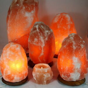 Himalaya Salzlampe Salzkristalllampe Salzsteinlampe Teelicht Lampe 0,5 - 30 kg