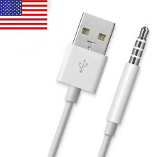 USB Charger Data Sync Cable Power Lead for Apple iPod Shuffle MP3 UK