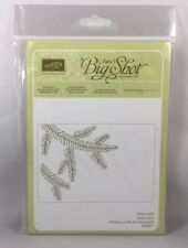 PINE BOUGH Embossing Folder Stampin Up New Christmas Tree Branch Background
