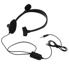 New Single ear Wired Gaming Headset Headphones with Mic for PS4 PlayStation AM1