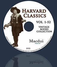 Harvard Classics aka Dr.Eliot's Five Foot Shelf – 52 Volumes PDF eBooks on 1 DVD
