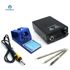 T12-D Lead-Free Soldering Station Soldering Iron Kit Temperature Cont PCB Repair