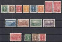 Y4635/ CANADA – 1937 / 1938 MINT SEMI MODERN LOT – CV 340 $