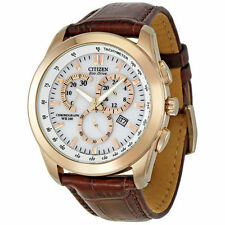 Genuine Leather Band Men's Adult Wristwatches