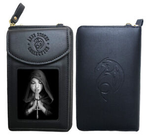 Stunning Anne Stokes 3D Purse and Phone Holder - Gothic Prayer