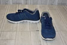 Skechers Missing Link Sneaker, Men's Size 7.5, Blue