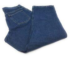 L. L. Bean Original Fit Boot Cut High Waist Mom Blue Jeans Women's 14 Regular