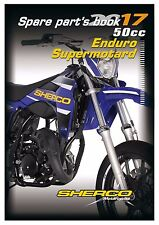 Sherco Parts Manual Book Chassis & Engine 2017 50cc Enduro Supermotard