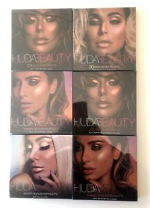 HUDA BEAUTY Highlighter Palettes in Summer, Winter and 3D Variations