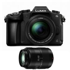 Panasonic Lumix DMC-G85 Mirrorless Camera 2-Lens Bundle with 12-60mm and