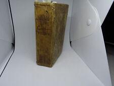 Delle Poesie Malinconiche di Publio Ovidio Nasone – Venezia Angelo Geremia 1742