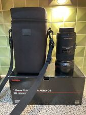 Sigma 105mm f2.8 Macro EX DG OS HSM For Nikon
