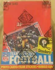 1980 Fleer Football 🏈 Brand New - Teams In Action Unopened Wax Box - BBCE FASC
