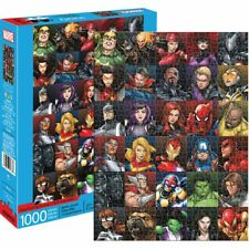 Marvel - Heroes Collage 1000pc Puzzle From Mr Toys