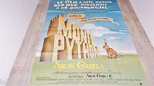 monty python SACRE GRAAL  ! terry gilliam terry jones affiche cinema 1974