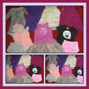 HUGE LOT~CLOTHES SHORTS TOPS DRESSES SUMMER OLD NAVY GYMBOREE GIRLS SIZE 5T 5