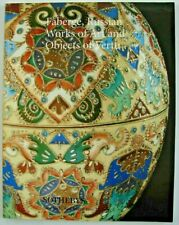 Sotheby New York June 12 1996 Faberge Russian Works of Art and Objects of Vertu
