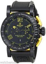 Zodiac ZMX Mens Racer Analog Display Swiss Quartz Black Watch ZO8555